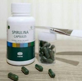 efek samping masker spirulina kapsul
