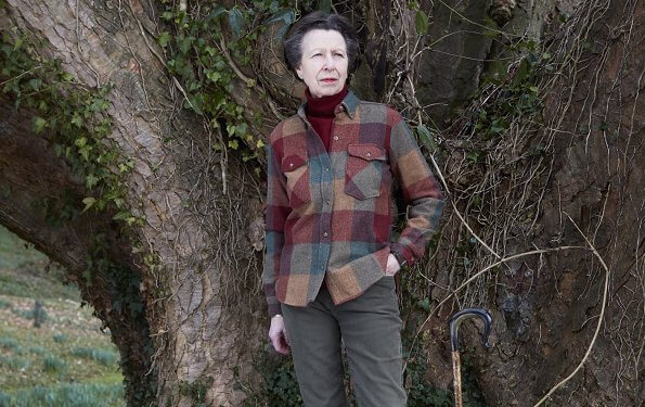 Princess Anne, the only daughter of Queen Elizabeth, celebrates her 70th birthday. Princess Anne wore a outfit