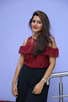 Pavani Gangireddy in Cute Black Skirt Maroon Top at 9 Movie Teaser Launch 5th May 2017  Exclusive 046.JPG