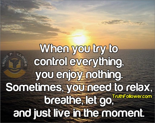 Live in the moment, Deep Life Quotes