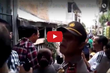 Video Warga Teriakkan Allahu Akbar Sambil Berusaha Mengejar Ahok Saat Blusukan