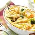 Запіканка з цвітної капусти для дітей з вершковим соусом