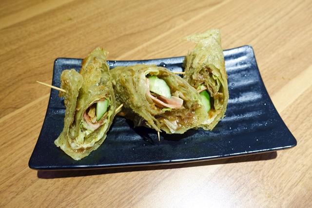 民豐素食館京醬捲餅