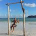 A swing on the beach - Lombok