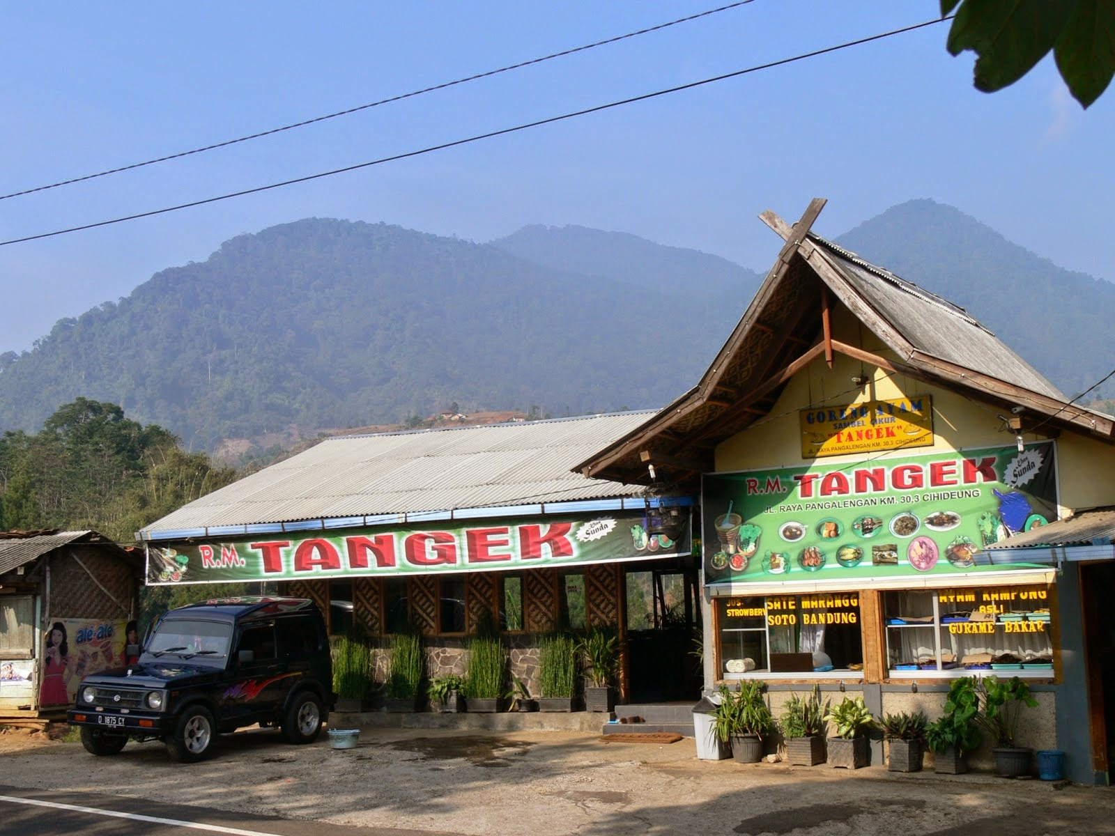 my tea factory: Rumah Makan Tangek : sederhana tapi istimewa