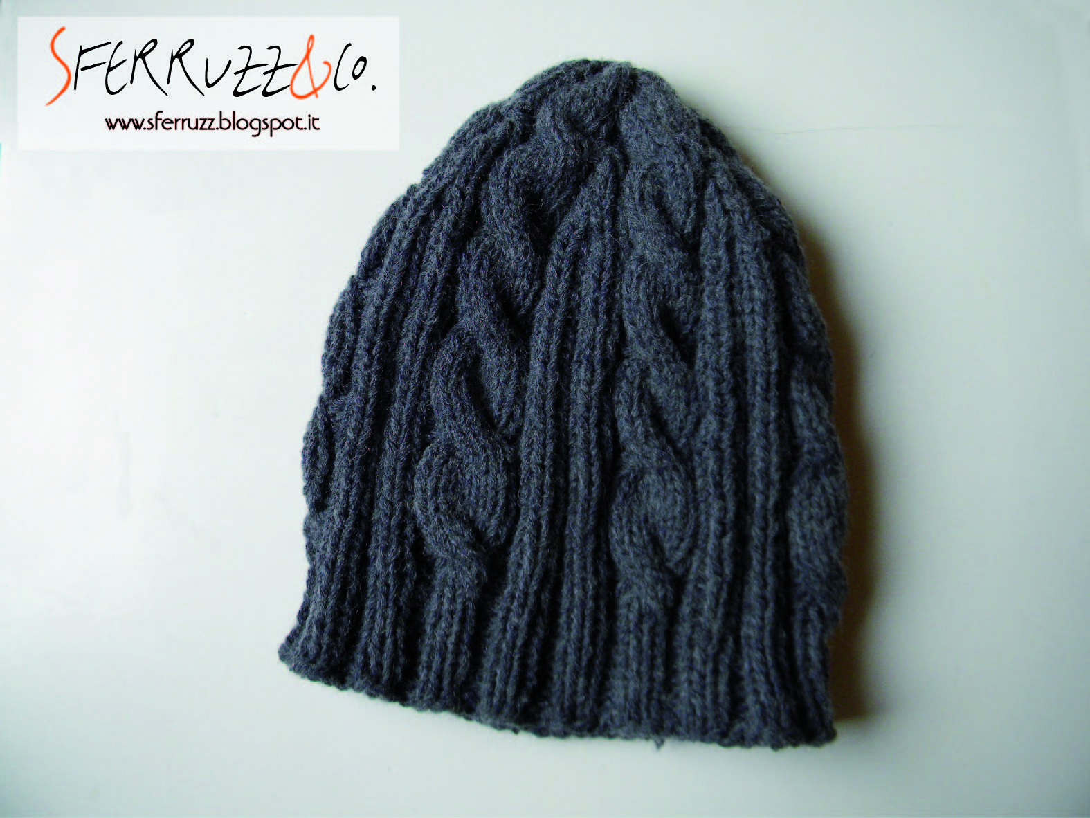 Cappelli di lana per uomo ai ferri – Acconciature medi 957354bf76b6