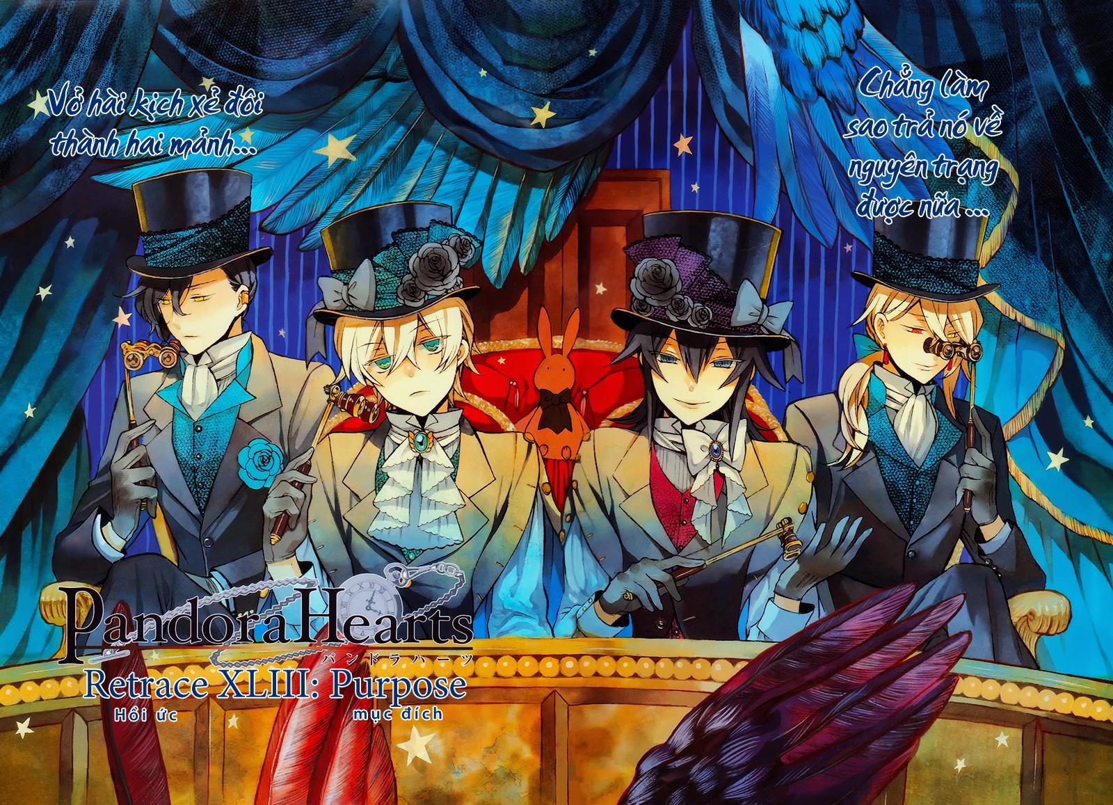 Pandora Hearts chương 063 - retrace: lxiii purpose trang 3