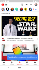 YouTube to add Messaging Feature With Renamed Tabs YouTube tests renamed tabs focused on messaging