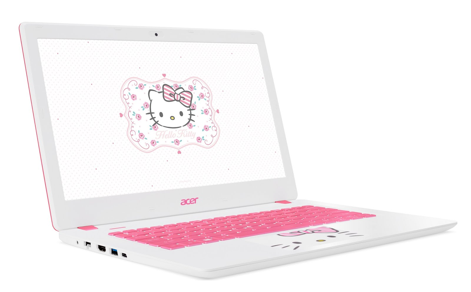 Acer goes Pink with the Limited Edition Sanrio Hello Kitty Laptop