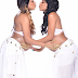 From Linda Ikeji's Blog: Twin sisters, pregnant at the same time, do beautiful maternity shoot (photos)