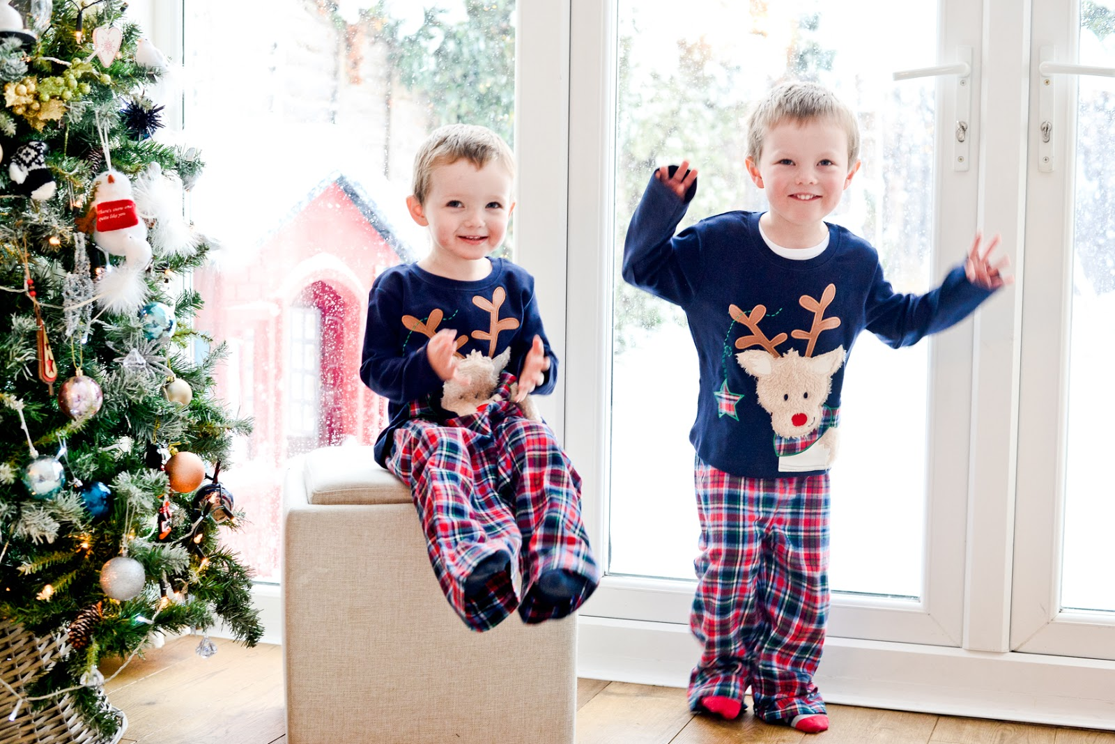 matching christmas pyjamas