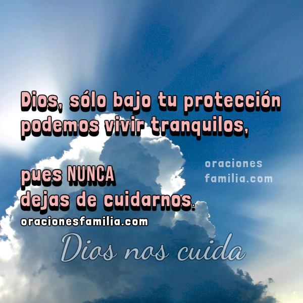 Salmo 91. Oración de cuidado y protección de Dios, oraciones cristianas para que Dios nos cuide en la noche o el día. El que habita al abrigo de Dios. Mery Bracho Imágenes