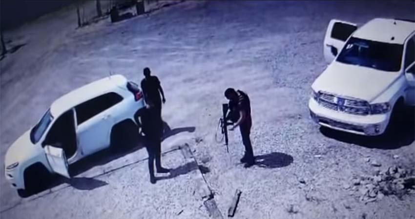 VÍDEO: Comando armado irrumpe en rancho de suegro de la gobernadora de Sonora