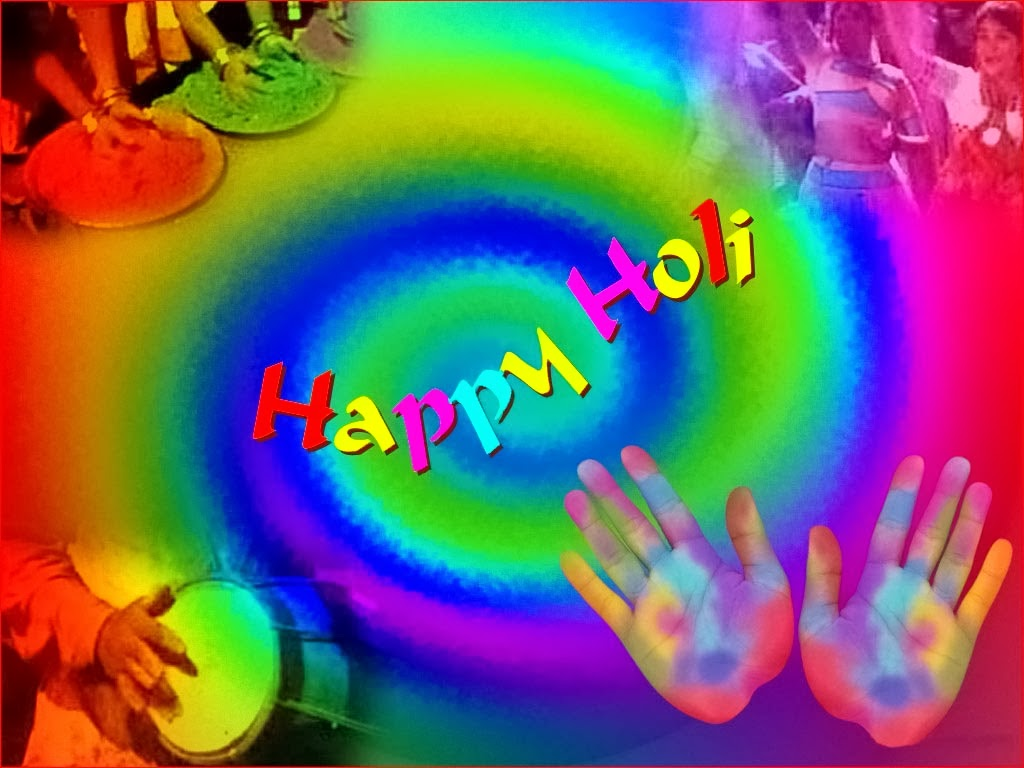 Happy Holi Text Messages Greetings in English 2017