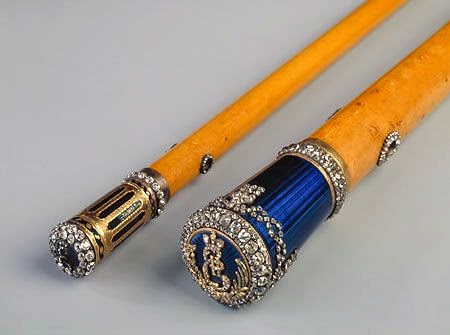 The Walking Sticks of Catherine the Great