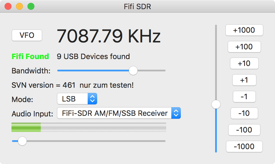 marxy's musing on technology: Fifi SDR control app for MacOS