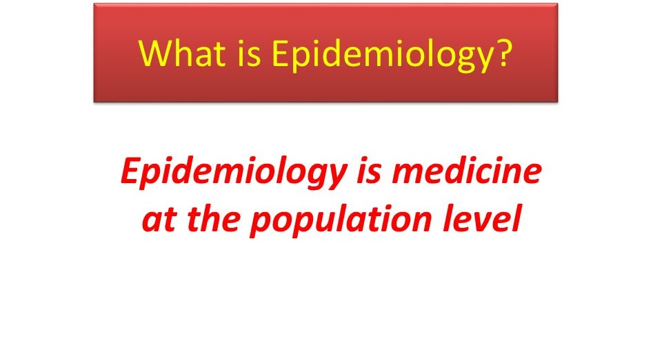 what is epidemiology?, Human Body