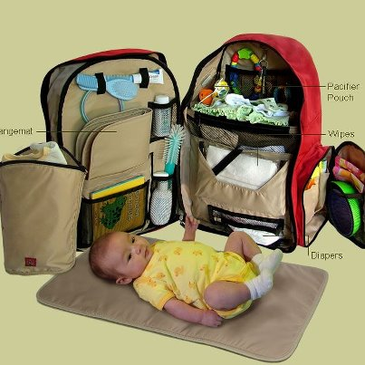Okkatots Travel Baby Depot Bag And Backpack Diaper