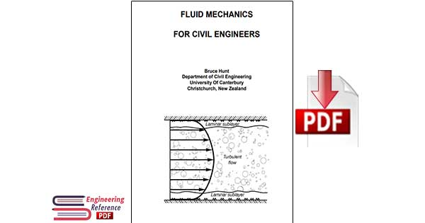 fluid mechanics for civil engineers by Bruce Hunt