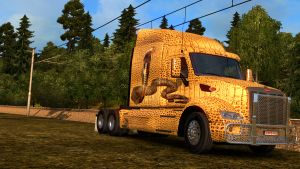 Cobra Snake paint job for Peterbilt 579
