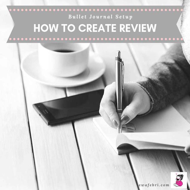 cara membuat bullet journal reviews