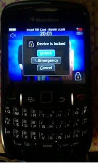 Cara Mengatasi Lupa Password Layar Kunci Blackberry