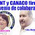 Firman convenio de colaboración UNT Río Bravo y Canaco Servytur