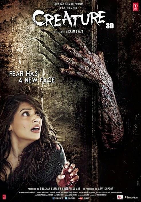 فيلم الرعب والخيال العلمي الهندي للنجمة بيباشا باسو Creature 2014