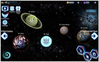 Galaxy Reavers-Space RTS Apk+Data Mod Unlimited Money