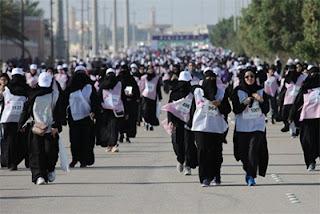 All-female marathon in Saudi Arabia