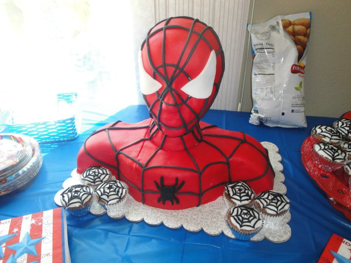 Pin Spiderman Vs Batman Huggies Birthday Cake Gallery