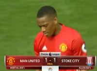 Manchester United vs Stoke City 1-1 Video Gol & Highlights