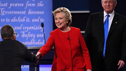 US Presidential Election Post-debate poll: Hillary Clinton Wins Round One
