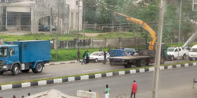 Armoured vehicle involved in accident in Calabar