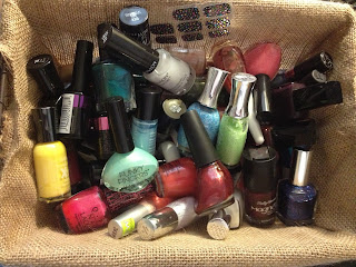 Nail polish for nail polish bottle spin game