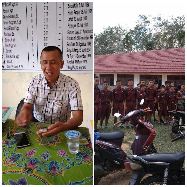 SMP N 8 Butuh Bantuan Gedung Sekolah Dari Pemerintah