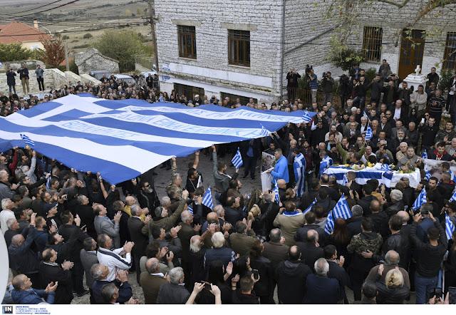 Τριτοκοσμική η συμπεριφορά των Αλβανικών αρχών στο μνημόσυνο Κατσίφα
