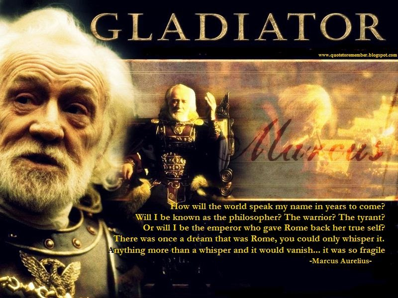 Quote To Remember Gladiator 2000