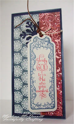 Our Daily Bread Designs, Snowflake bookmarks, Snowy Blessings, bookmark dies