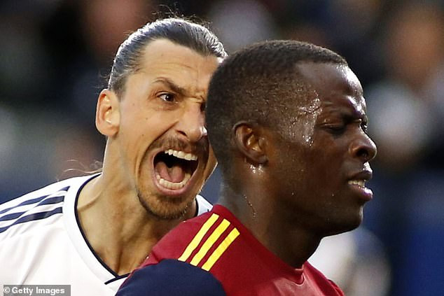 Nigerian footballer, Nedum Onuoha refuses apology from Zlatan Ibrahimovic for clashing with him on the field (Photos/Video)