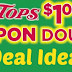Tops Markets:  Dollar Doubler Deal Ideas Filler and FREEbie List (1/6 thru 1/12)