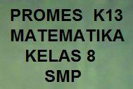 Promes Matematika Kelas 8 K13 Smp Revisi Kherysuryawan Id