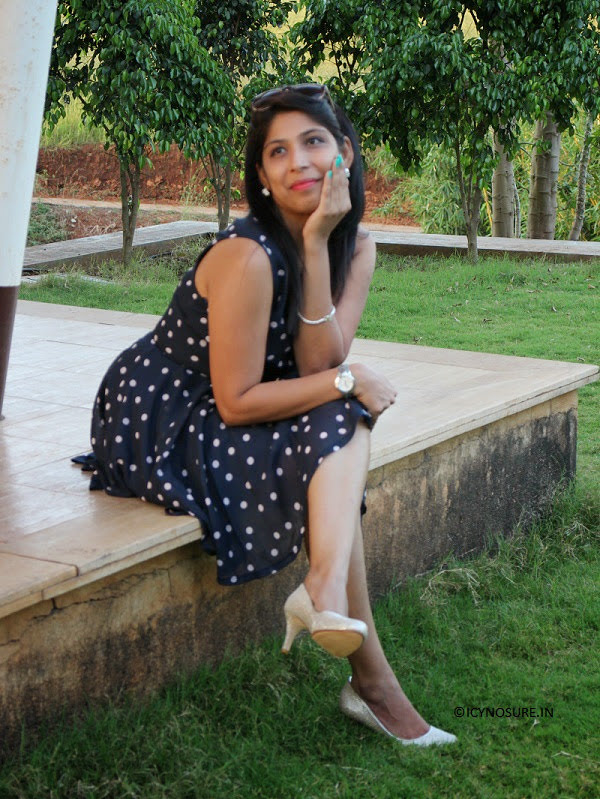 What I Wore, How To Style A Polka Dotted Dress