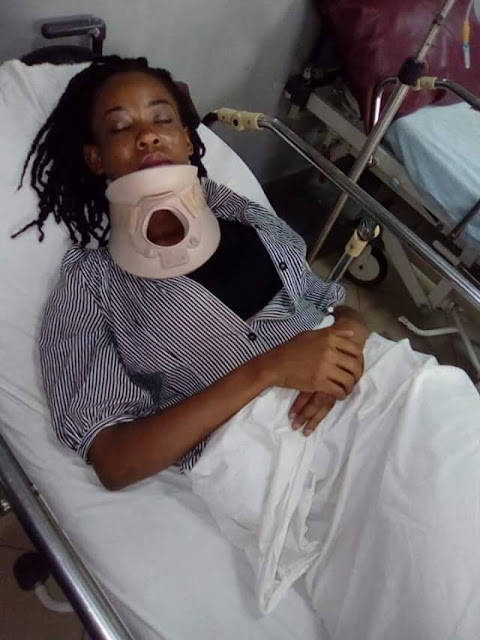 Woman narrates how she survived near-fatal car accident on Otedola bridge
