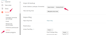 How to Backup and Restore Blogger post content