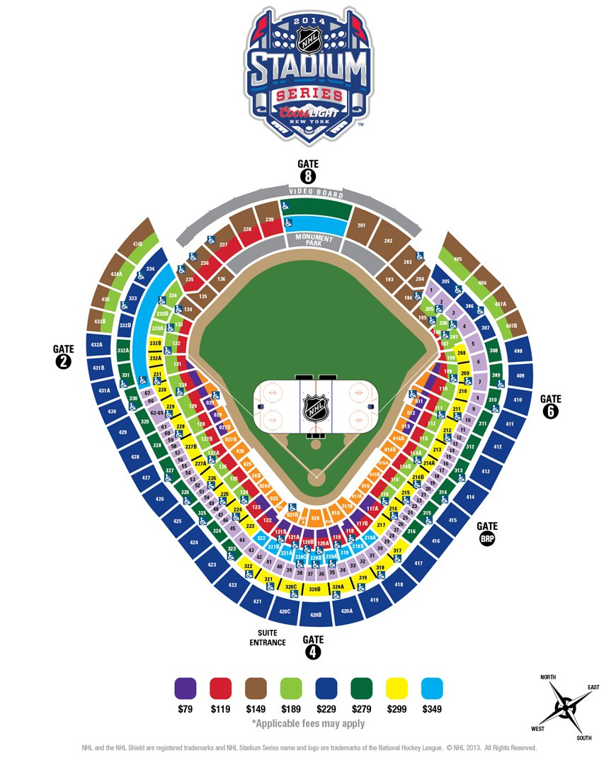 Yankee Stadium Seating Chart & Interactive Seat Map SeatGeek - yankees stadium seating chart