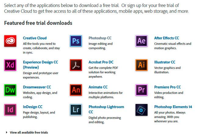 seleccionar programa preferido o photoshop