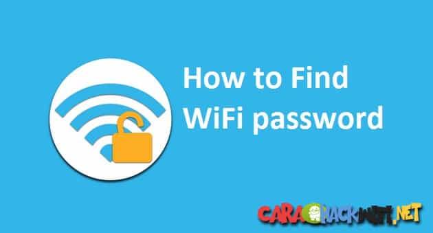 Cara Paling Mudah Melihat Password WIFI di Windows
