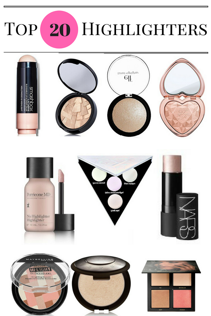 20 best highlighters makeup