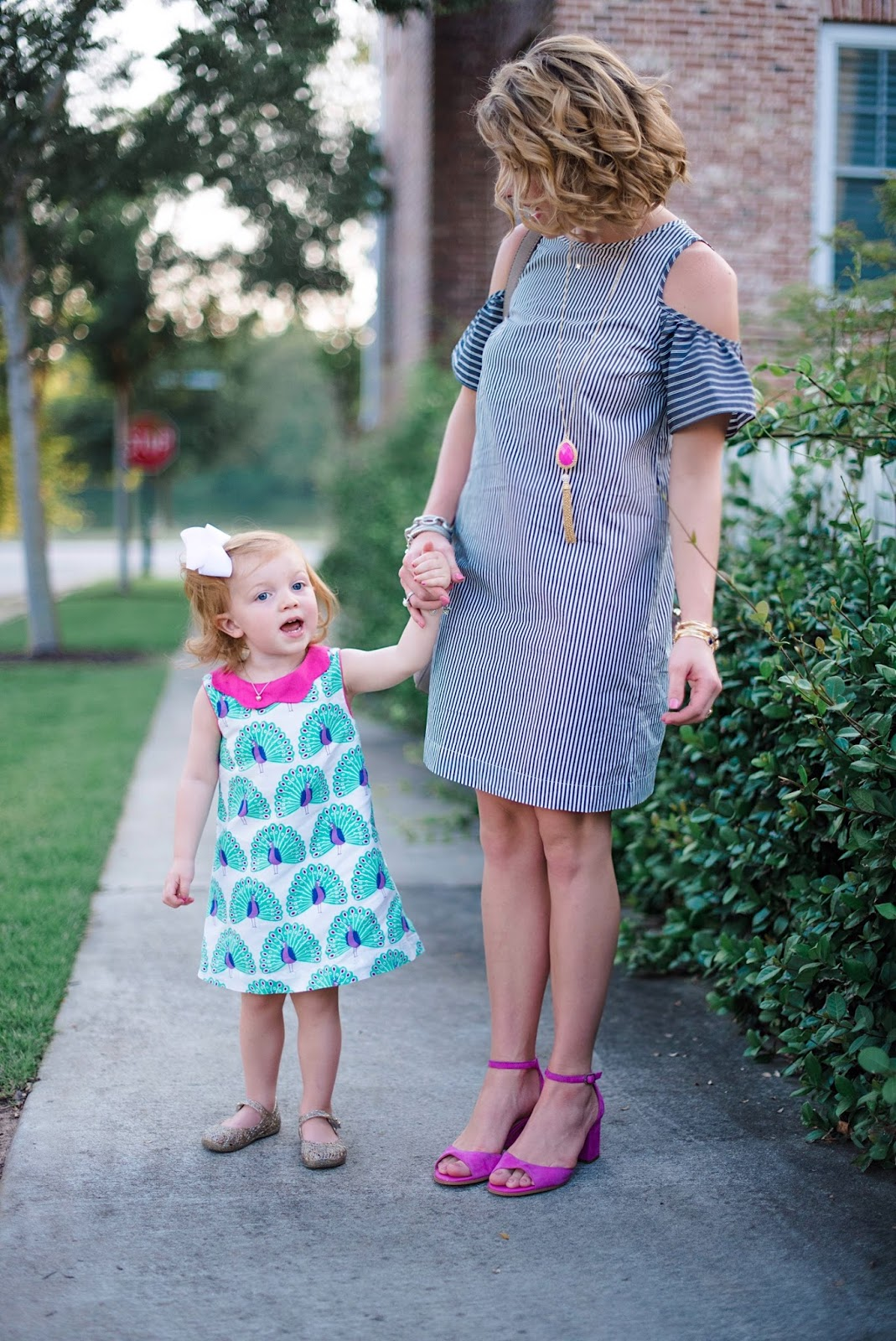 Mommy & Me Looks - Click through to see more on Something Delightful Blog!
